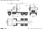 Mack Granite Axle Forward 6x4 GU713 (2008)