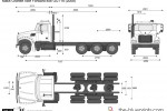 Mack Granite Axle Forward 8x6 GU714 (2008)