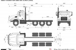 Mack Pinnacle Axle Back 8x6 GU804 (2008)