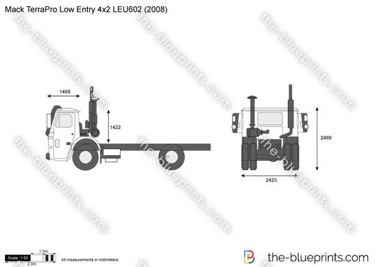 Mack TerraPro Low Entry 4x2 LEU602