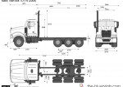 Mack Titan 8x4 TD714 (2008)