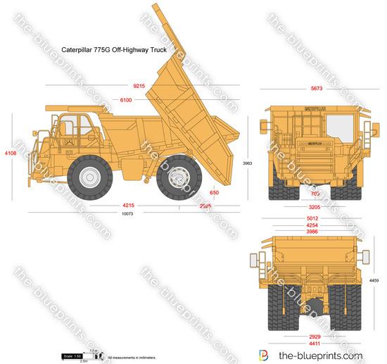 Caterpillar 775G Off-Highway Truck