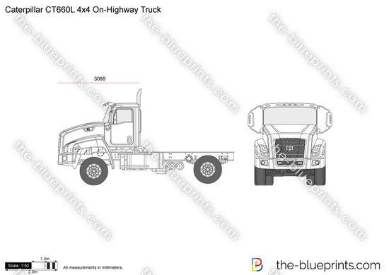 Caterpillar CT660L 4x4 On-Highway Truck