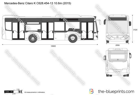 Mercedes-Benz Citaro K C628.454-13 10.6m