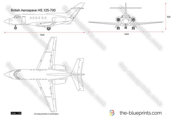 British Aerospace HS.125-700