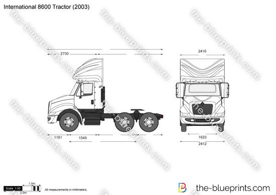International 8600 Tractor