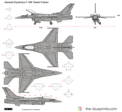 General Dynamics F-16E Desert Falcon