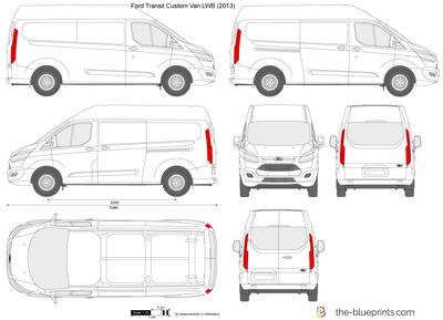 Ford Transit Custom LWB L2H2