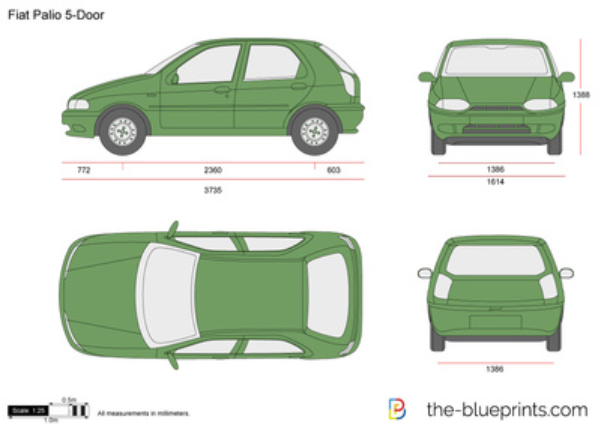 Fiat Palio 5-Door