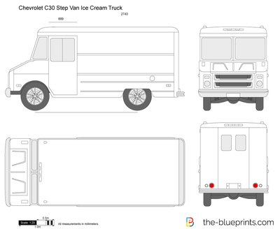 Chevrolet C30 Step Van Ice Cream Truck