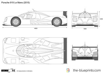 Porsche 919 Le Mans