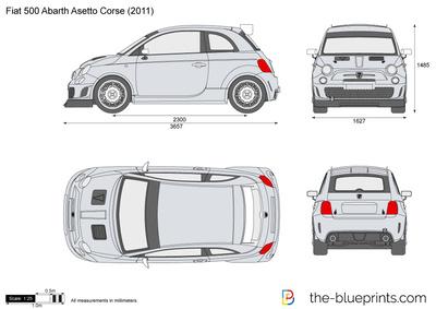 Fiat 500 Abarth Aset…