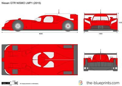 Nissan GTR NISMO LMP1