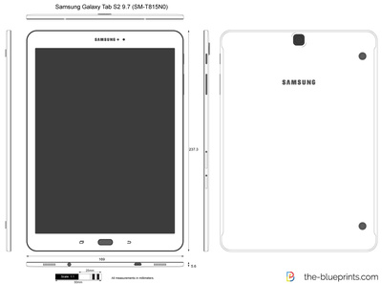 Samsung Galaxy Tab S2 9.7 (SM-T815N0)