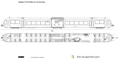 Stadler GTW DMU-2 2-6 low-floor