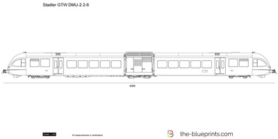 Stadler GTW DMU-2 2-6