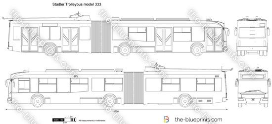 Stadler Trolleybus model 333