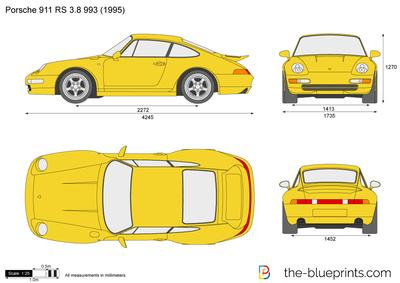 Porsche 911 RS 3.8 993