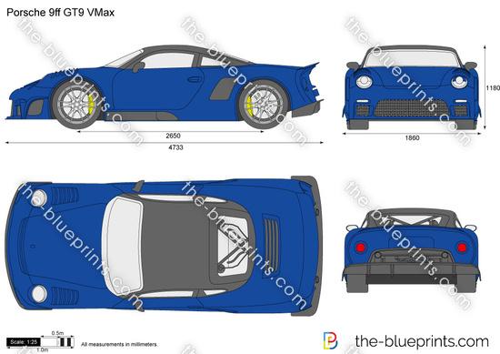 Porsche 9ff GT9 VMax