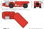 Sandvik TH430 Underground Truck