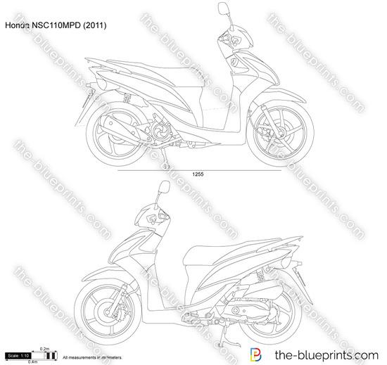 Honda NSC110MPD