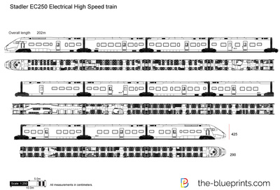 Stadler EC250 Electrical High Speed train