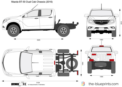 Mazda BT-50 Dual Cab Chassis