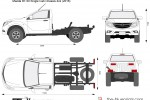 Mazda BT-50 Single Cab Chassis 4x2 (2016)