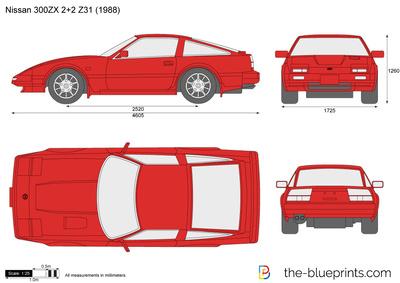 Nissan 300ZX 2+2 Z31 (1988)