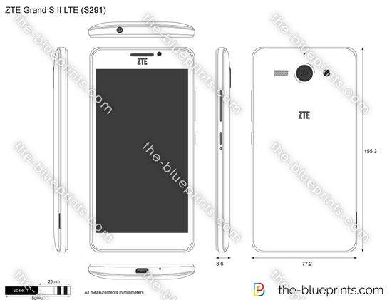 ZTE Grand S II LTE (S291)