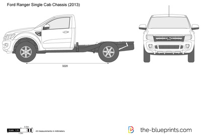 Ford Ranger Single Cab Chassis