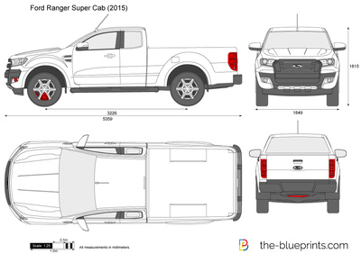 Ford Ranger Super Cab
