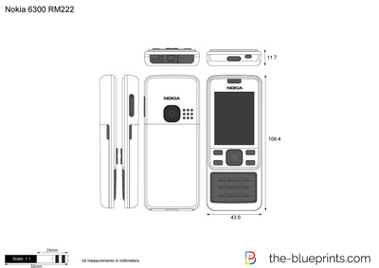 Nokia 6300 RM222