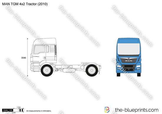 MAN TGM 4x2 Tractor