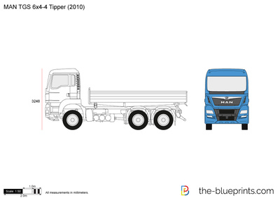 MAN TGS 6x4-4 Tipper