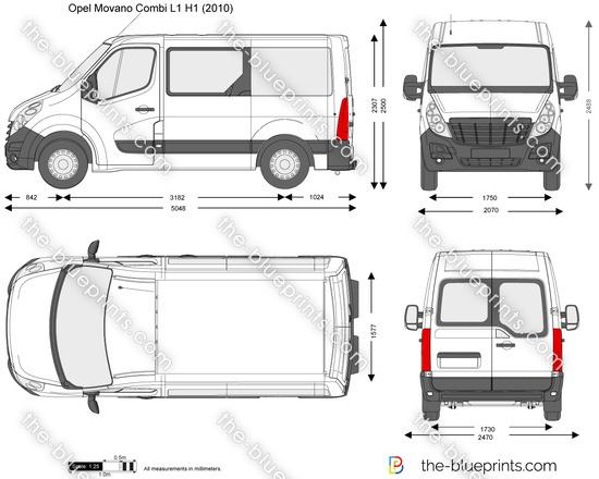 Opel Movano Combi L1 H1