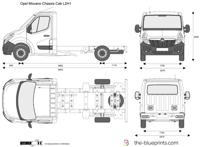 Opel Movano Chassis Cab L2H1