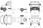 Opel Movano Chassis …