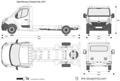 Opel Movano Chassis Cab L3H1