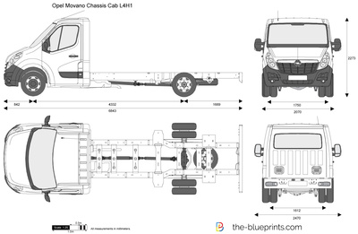 Opel Movano Chassis Cab L4H1