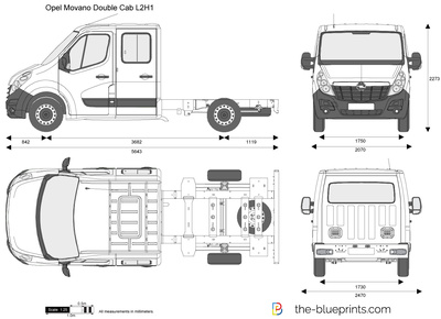 Opel Movano Double Cab L2H1