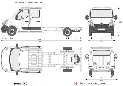 Opel Movano Double Cab L3H1