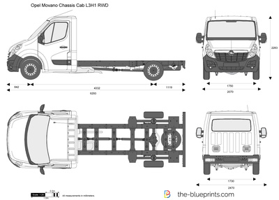 Opel Movano Chassis Cab L3H1 RWD