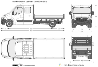 Opel Movano Pick-Up Double Cabin L2H1