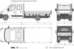 Opel Movano Pick-Up Double Cabin L4H1