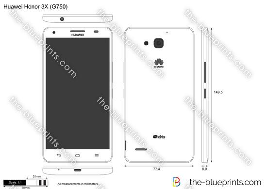 Huawei Honor 3X (G750)