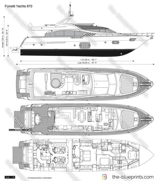 Ferretti Yachts 870