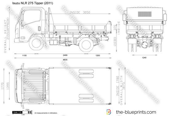Isuzu NLR 275 Tipper
