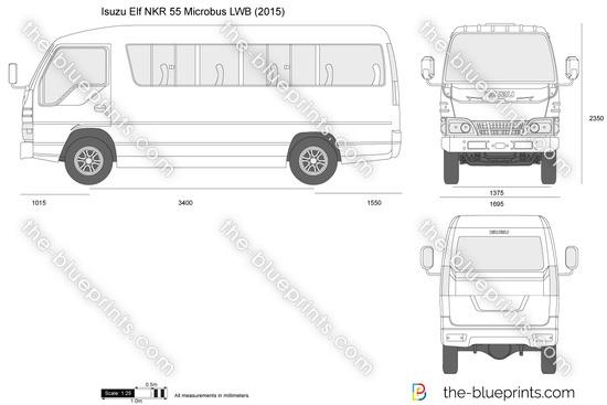 Isuzu Elf NKR 55 Microbus LWB