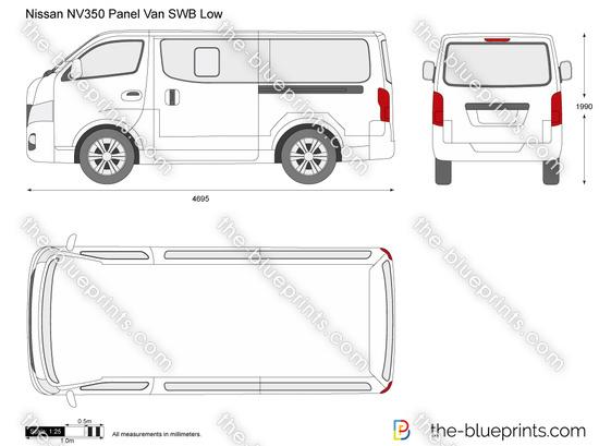 Nissan NV350 Panel Van SWB Low